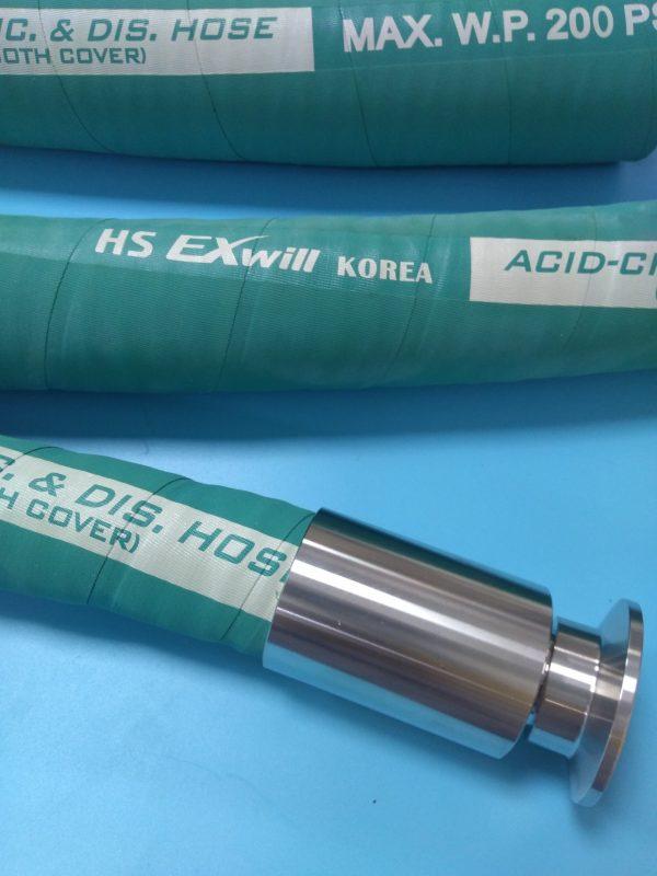 ỐNG CAO SU DẪN HOÁ CHẤT XLPE – EXwill